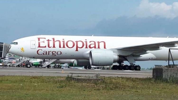 Ethiopian Air Cargo Masih Ditahan di Hang Nadim Batam
