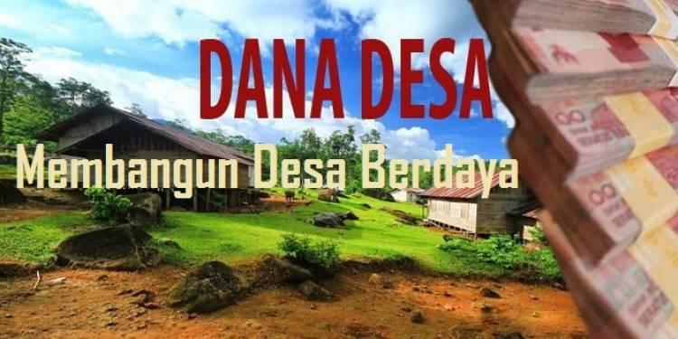 Dana Desa di Batanghari Jadi Rp98,51 Miliar, Begini Proses Penyalurannya..