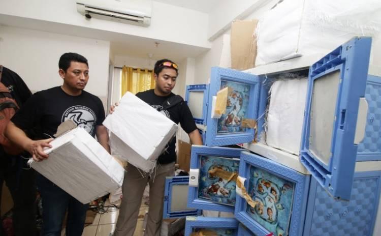 112.060 Obat Daftar G di Gudang Narkoba Apartemen  Berstatus Ilegal