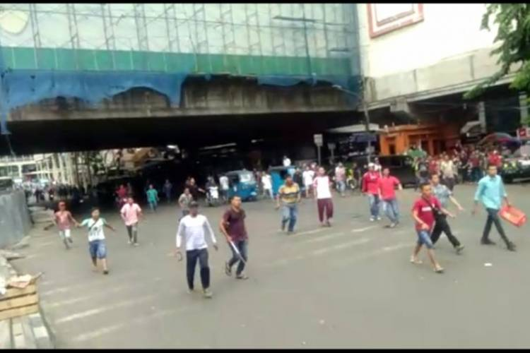 Polisi Tangkap Tiga Provokator PKL Tanah Abang