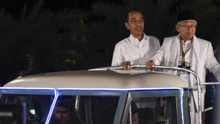 Jokowi-Ma'ruf Berangkat dari Istana Ke Lokasi Debat