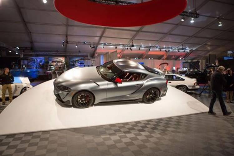Toyota Supra 2020 Buatan Pertama Laku Terjual Rp29,8 Miliar
