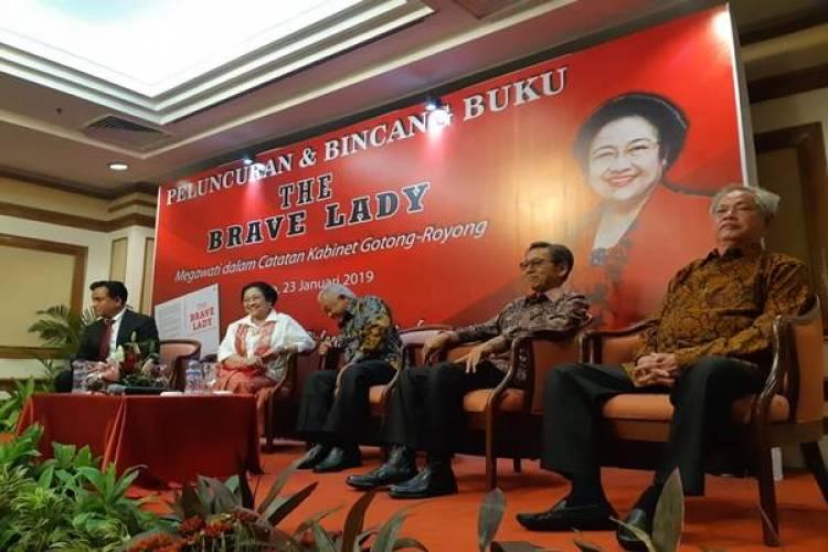 Mantan Wapres dan Menteri Kabinet Hadiri Peluncuran Buku Megawati