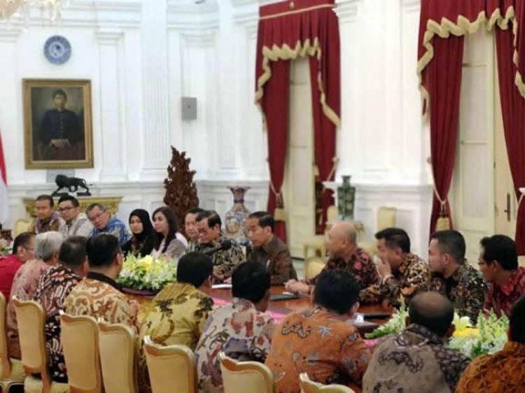 Presiden Jokowi Terima Pengusaha Beras, Ini yang Dibicarakan