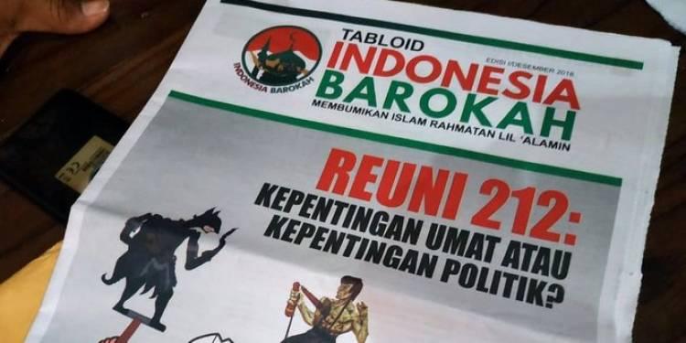 Tabloid Indonesia Barokah Sudutkan Prabowo-Sandi
