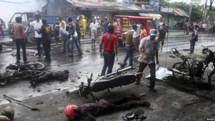 Delapan Orang Tewas Dalam Dua Ledakan di Jolo, Filpina