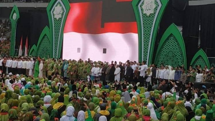 Jokowi: Kita Ingat Islam Moderat, Moderasi Islam Terus Digaungkan