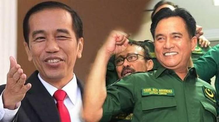 Yusril: Tidak Masalah Bila Ada Caleg PBB Dukung Prabowo-Sandi