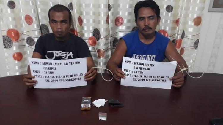 Begini Aksi Polisi Ringkus Dua Bandar Sabu Asal Sarolangun