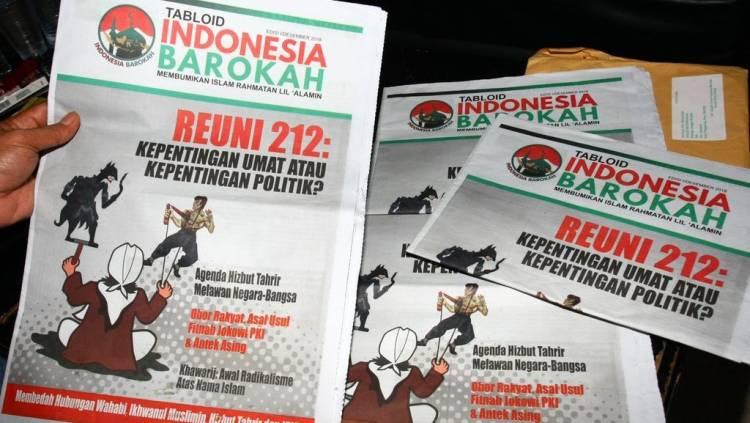 Bawaslu dan Polda Jambi Telusuri Tabloid Indonesia Barokah di Kantor Pos