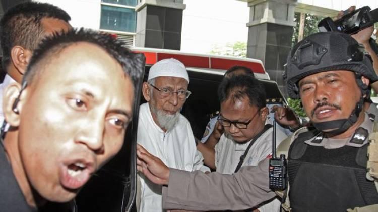 Abu Bakar Ba'asyir Tiba di RSCM Dikawal Ketat Aparat