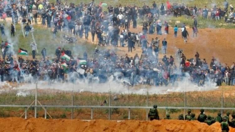 Biadab! Pasukan Israel Tembak Peternak-Petani Palestina di Sepanjang Perbatasan Gaza