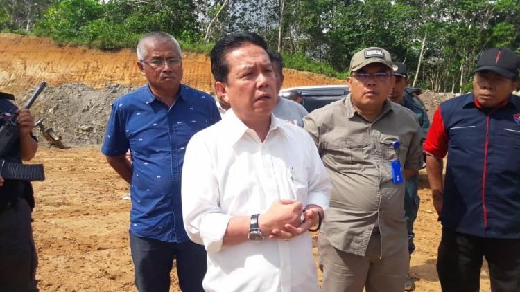 Tahura Dirambah Illegal Drilling, Bupati Syahirsyah Salahkan LH tak Pernah Melapor