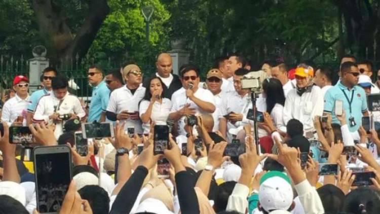 Serba Dibatasi, Prabowo: Saya Nggak Bisa Pidato Nggak Boleh Minta Dukungan Kalian