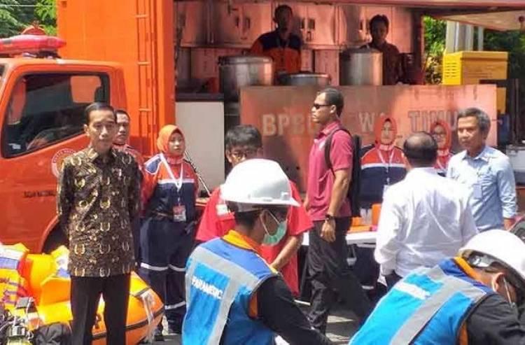Jokowi Perintahkan Edukasi Kebencanaan Mulai 2019