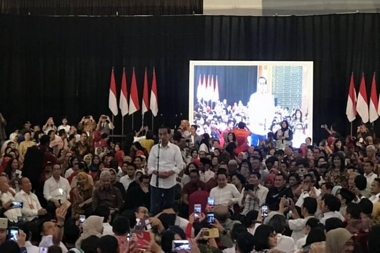 Sindir Prabowo, Jokowi: Jangan Bandingkan Indonesia dengan Haiti!