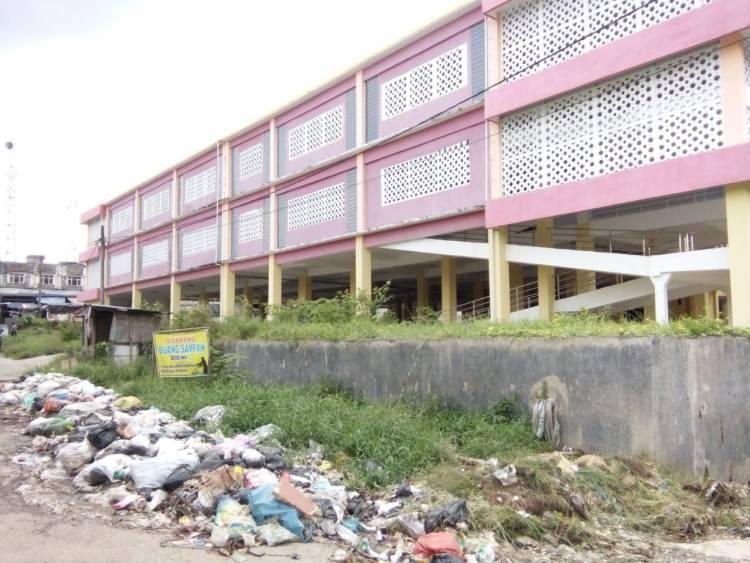 Habiskan Miliaran Rupiah, Gedung Pasar Modern Singkut Terbengkalai