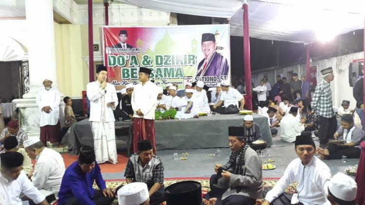 Zikir dan Doa Bersama, Ihsan Yunus Sampaikan Wasiat Abu Bakar Ash Shiddiq