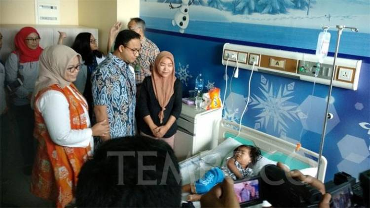 Gubernur Anies Tegaskan Perawatan Gratis Untuk Kasus DBD di Jakarta