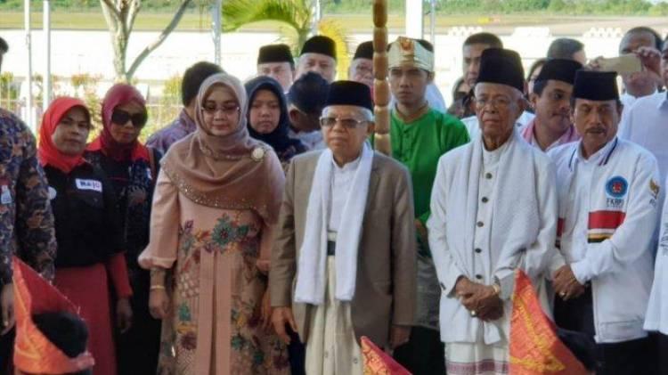 Di Hadapan Warga Minang, Ma'ruf Amin: Menyebarkan Berita Hoaks Itu Haram