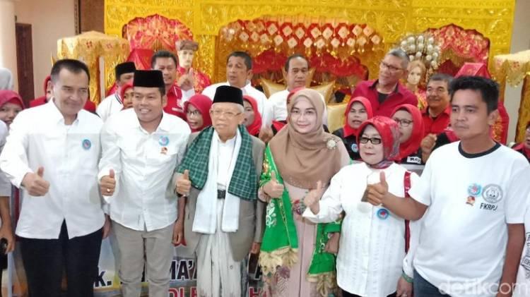 Meski di Lumbung Suara Prabowo, Ma'ruf Amin Yakin Taklukkan Sumbar