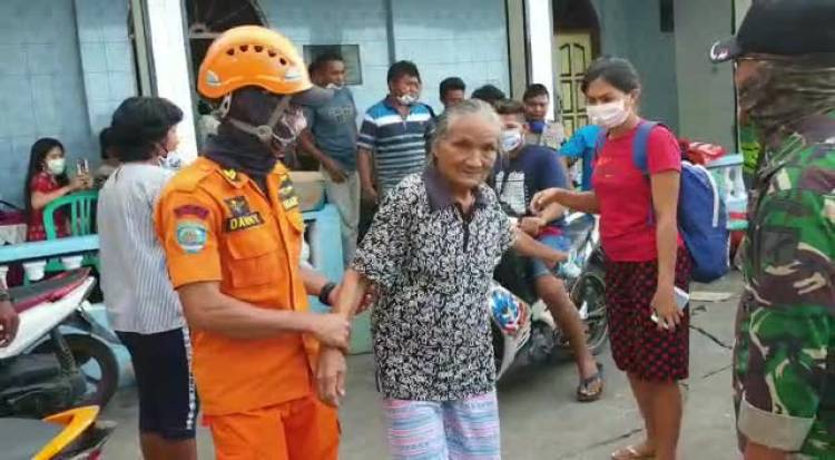 494 Warga Batubulan Korban Erupsi Gunung Karangetang Terisolir