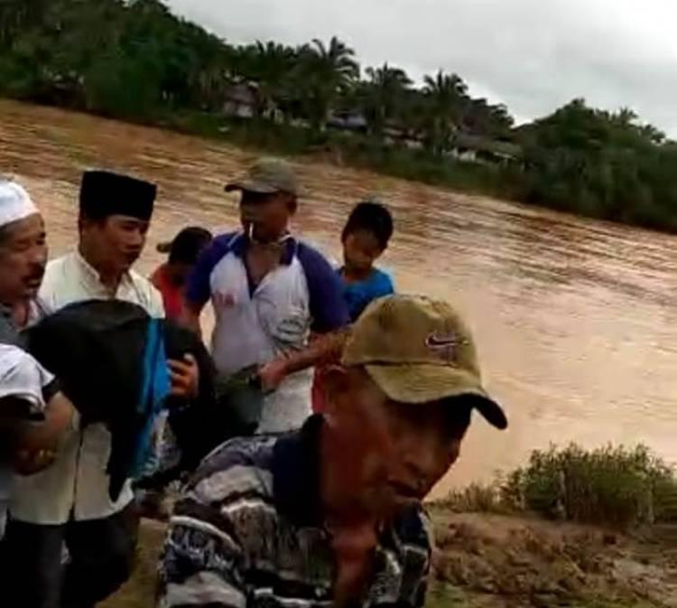 BREAKING NEWS: Rizki Bocah Sarolangun Ditemukan di Sungai Tembesi