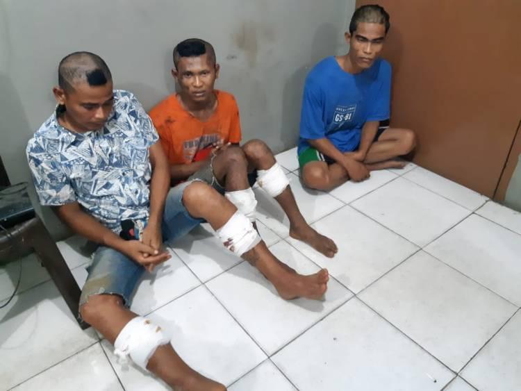 Apes, Sempat Kabur Dua Pencuri Motor di Bangko Ini Ditembak Polisi