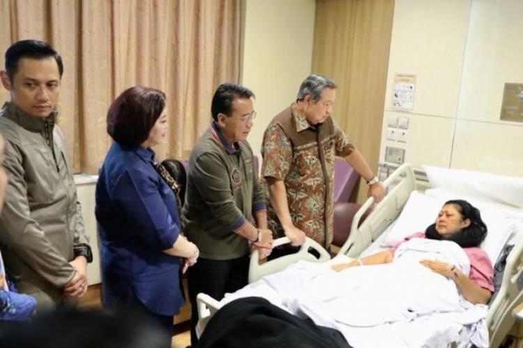 SBY Sebut Kanker Darah, Anies: Semoga Ibu Ani Yudhoyono Diberikan Kesehatan Kembali