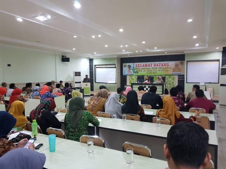 Gelar Bimtek, DLH Provinsi Jambi Harapkan Personil Pengelolan Limbah Lebih Qualified