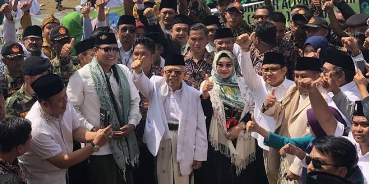 Diisukan Dijadikan Alat Dalam Pilpres 2019?, Begini Kata Maruf Amin...