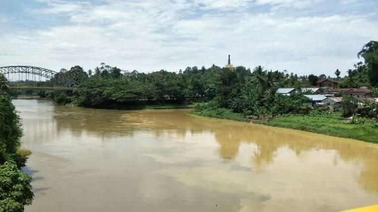 Nahas!  Mau Cari Ikan, Warga Simpang Parit Merangin Hanyut di Sungai