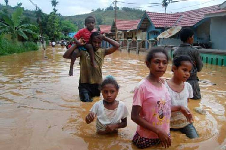 Walikota: Banjir di Jayapura Cukup Parah