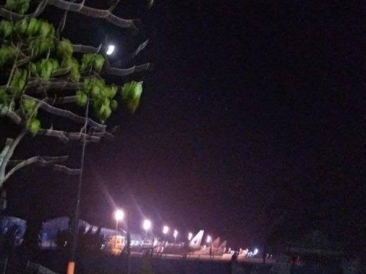 Malaysia Airlines Mendarat Darurat, Pintu Masuk Bandara Sultan Thaha Ditutup