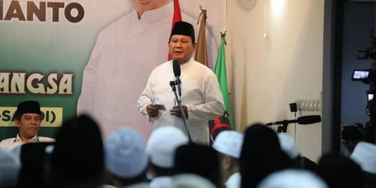 PANAS! Pendukung Prabowo dan Jokowi Nyaris Bentrok di Pamekasan Jatim