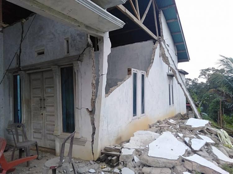 Listrik di Padang Aro Dipadamkan Sementara Pasca Gempa