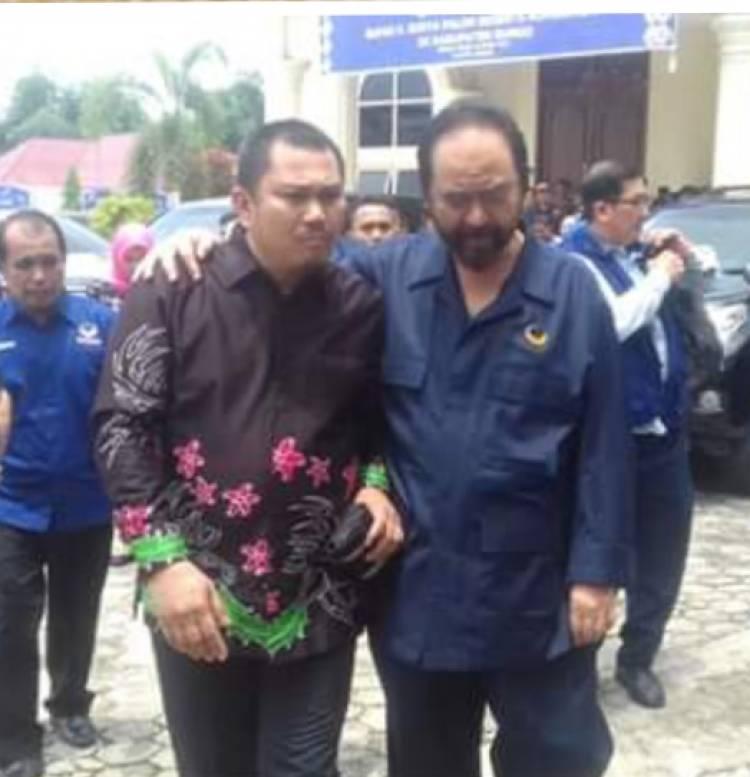 Paloh: Nasdem Pentingkan Kemenangan Jokowi-Ma'ruf Baru Kemudian Caleg