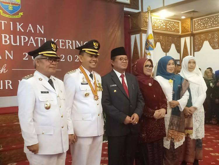 Lantik Adirozal dan Ami Taher, Gubernur Fachrori: Ruji Sama Merah Bertimbang Sama Berat