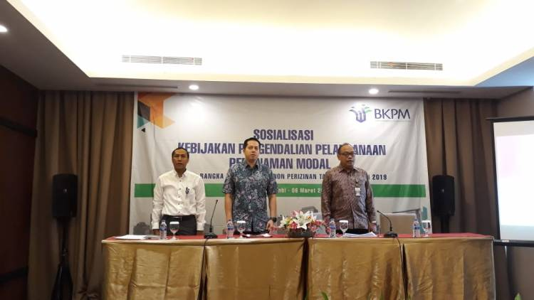 Jadi Narasumber BKPM, Ihsan Yunus: Investasi untuk UMKM, Hirilisasi, dan Pelabuhan Fokusnya di Jambi
