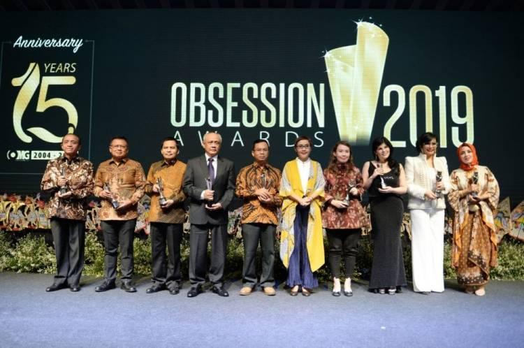Jokowi dan Sejumlah Menteri Dapat Penghargaan dari Obsession Awards 2019