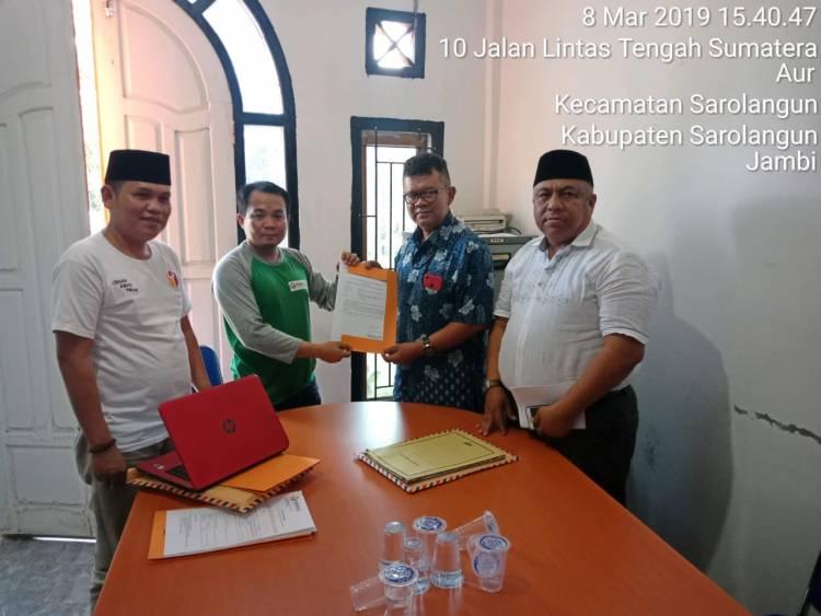 Anggota DPRD Melawan, KPU Sarolangun Resmi Digugat