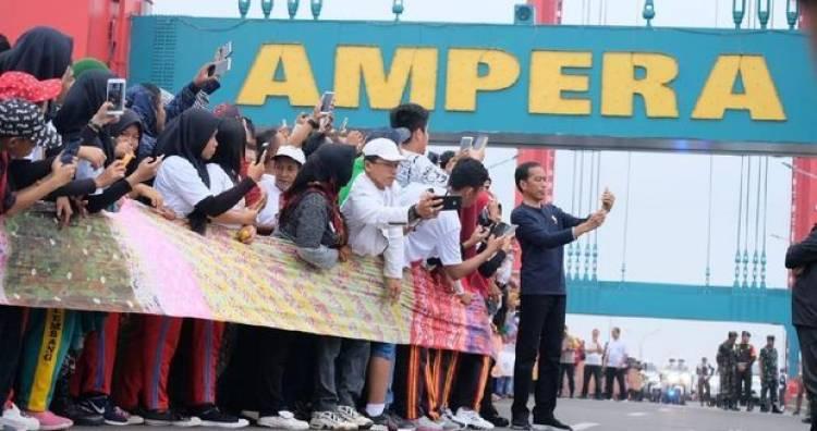 Soal Ibu Halimah Minta Ganti Untung, Jokowi: Nanti akan Diselesaikan Lewat BPN