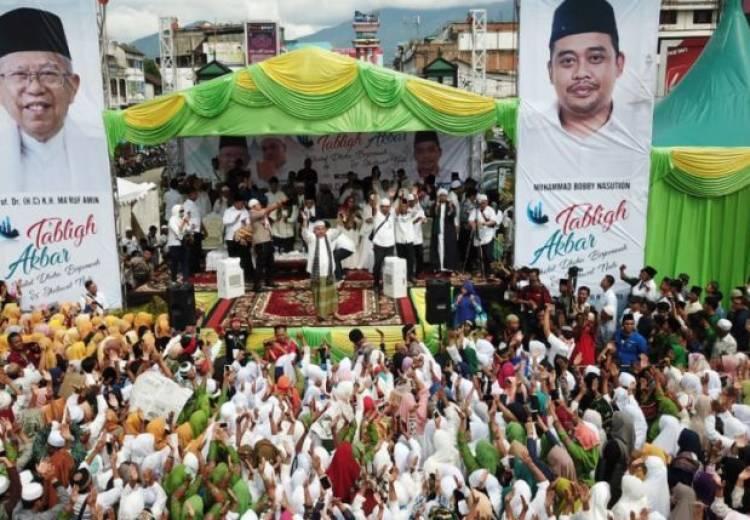 Maruf Jajaki Padang Lawas dan Madina