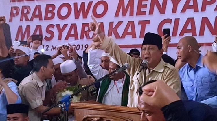 Prabowo: Setiap Saat Negara Minta Tanahnya Kembali, Saya Serahkan!