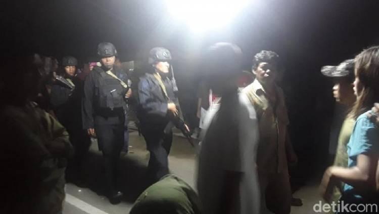 Penjagaan Ketat, Warga Dekat Lokasi Ledakan di Sibolga Belum Dibolehkan Pulang ke Rumah