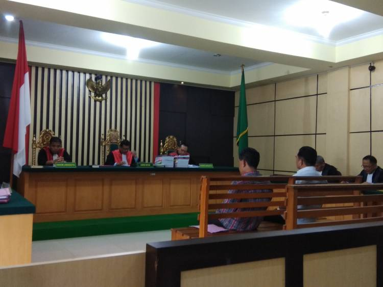 Sidang Dugaan Korupsi Irigasi Kerinci, Kadis PUPR Sarolangun Ibnu Ziady Didakwa Bersalah