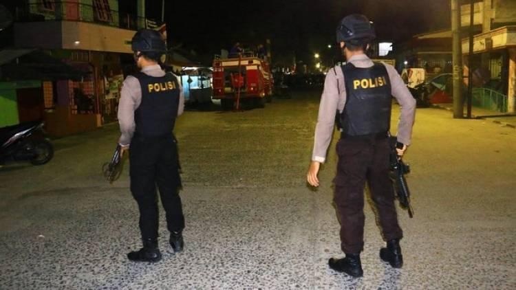 Potongan Jasad Terduga Bom Bunuh Diri Terlempar 70 Meter