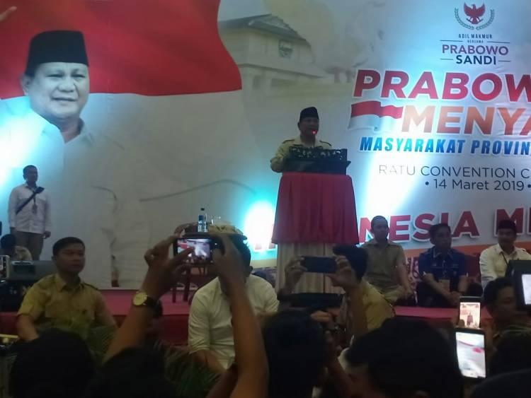 Prabowo: Ketemu Emak-emak Banyak Menarik-narik Saya, Mungkin Gemes!