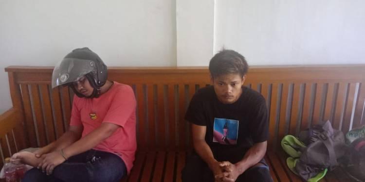 BREAKING NEWS! Takut Ditilang, Dua Pemuda Merangin Ini Nekat Tabrak Polisi