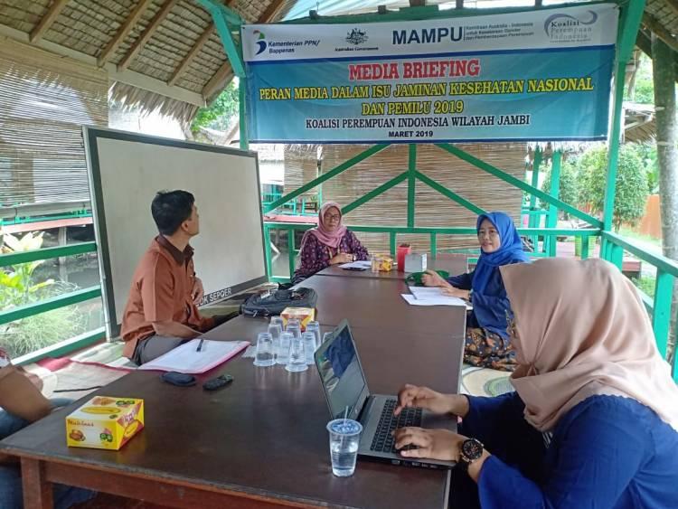 """Media Briefing Koalisi Perempuan Indonesia, KPID Jambi: Fokus Kami Awasi Iklan """"Sesat"""""""